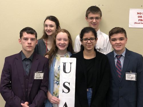 Model UN Students USA