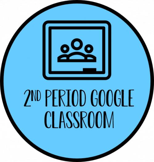 2nd Period Google Classroom Link