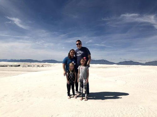 Spring Break trip to White Sands Desert in New Mexico