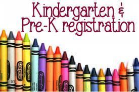 PreK and K registration