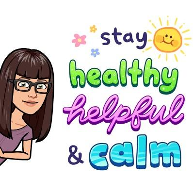 stay healthy bitmoji