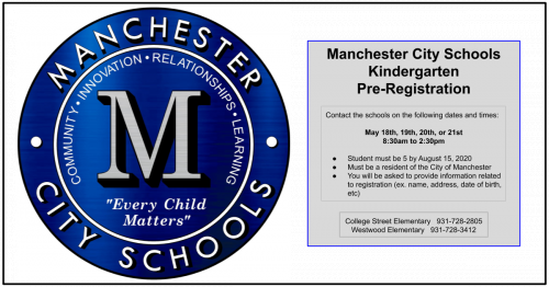MCS Kindergarten registration