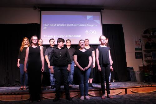 Westwood Singers at PTC