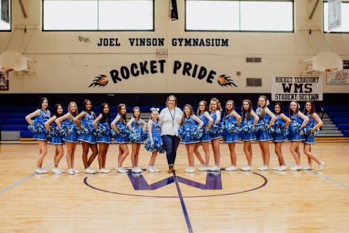 2019-2020 Cheerleaders