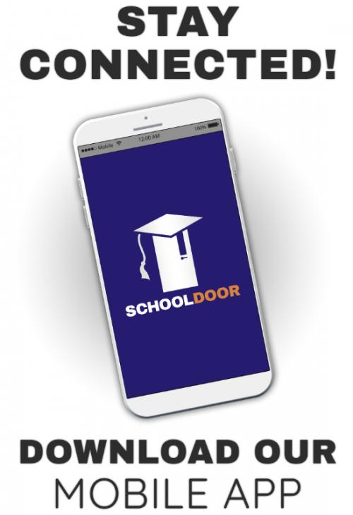school door logo