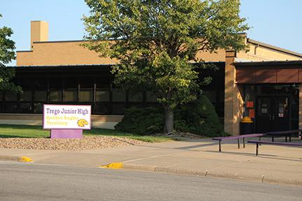 Landscape View facing Trego Junior High