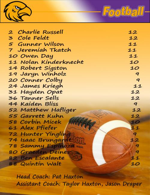 Football Roster