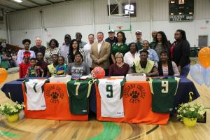 Family, Coaches, Board Members & Superintendent Forte