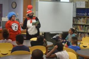 Dr Seuss Reading Sponsored by American Legion Tuskegee Airmen Post 332