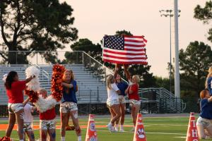 9/11 Tribute at Pep Rally 9/10/2021