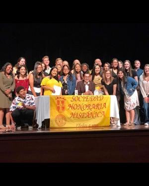 National Spanish Honor Society Induction 2019