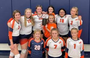 8th Grade Volleyball Team