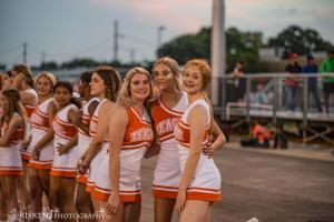 Varsity Cheerleaders @ Lions vs. Mart 8/27/2021