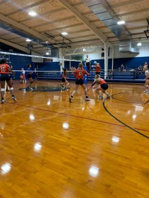 JV Lady Lions Volleyball at Wortham