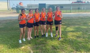 TJH Girls Cross Country Team-1st place