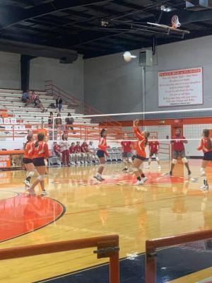 TJH Volleyball vs. Groesbeck 9/13/2021