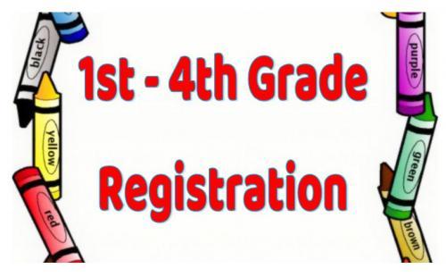 1st-4th Grade Registration Button