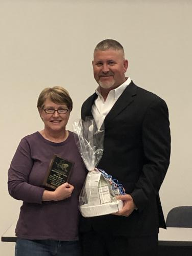 2019-2020 Teague ISD Team Member of the Year!