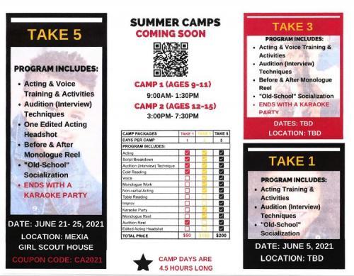 Summer Activities Flyer Page2