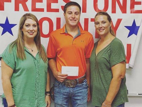 Ian Fitzgerald receives Go Texas Scholarship