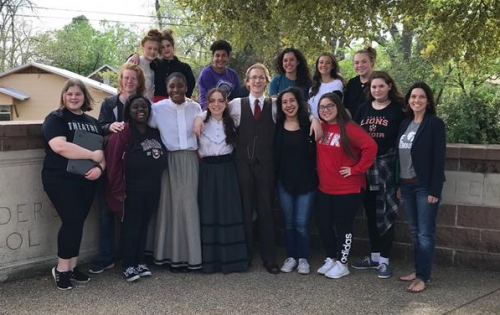 2018-19 One Act Play Cast