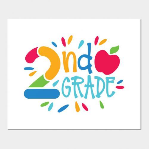2nd Grade Button