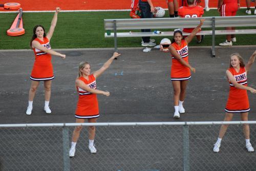 JV Cheerleaders 2021