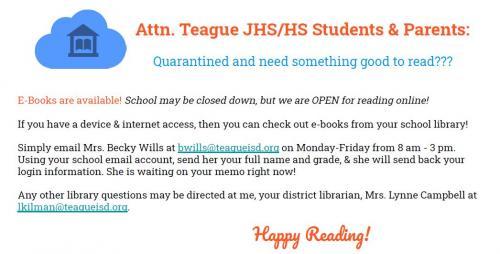 E-books Information flier