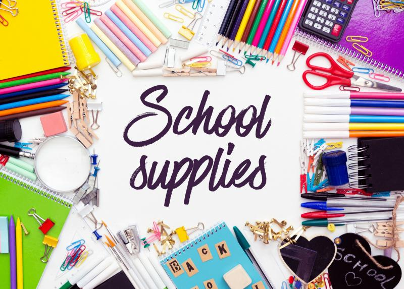 Canute Elementary Supply List 21-22