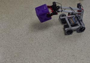 TEAM A Robot in action!