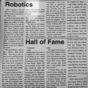 Robotics in the Paper!