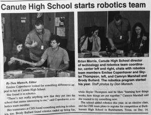 Robotics in the News!