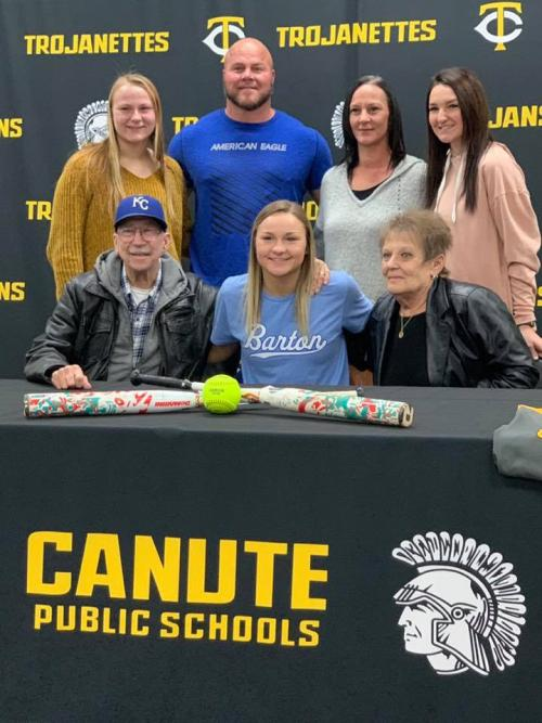 Madison Faylor signs to Barton Community College