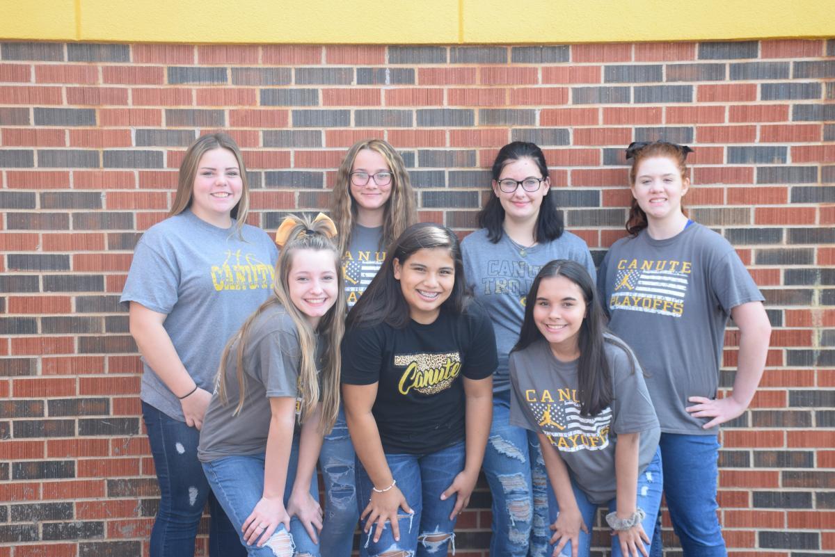 Canute Junior High School Cheerleaders 19-20