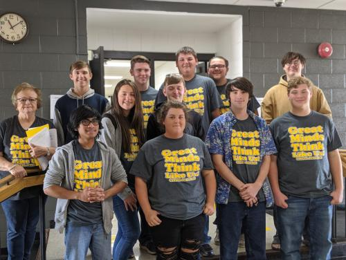 2019-20 High School Academic Team