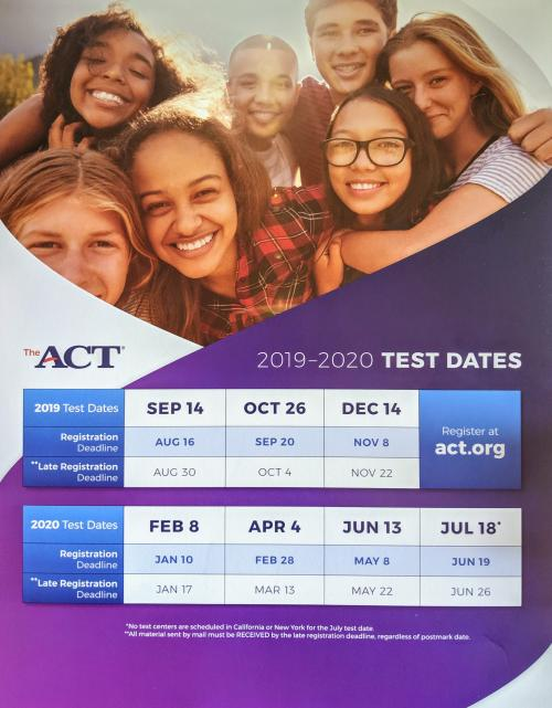 ACT INFORMATION 19-20