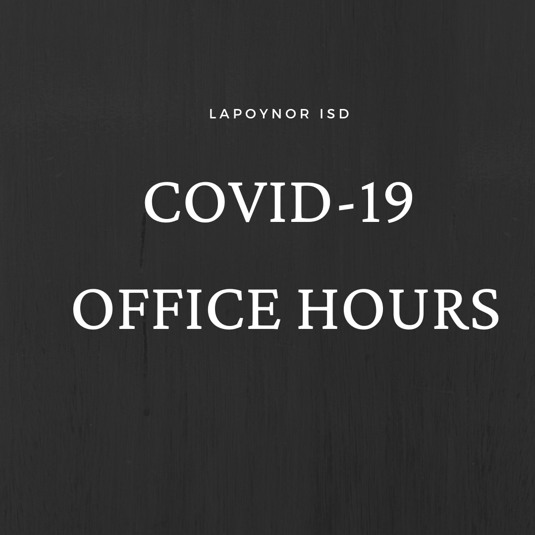 COVID-19 Office Hours