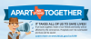 Image that corresponds to Apart We Stand Together:  Public Health Campaign