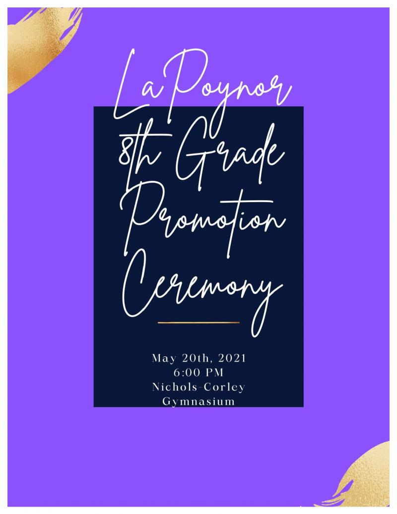 8th Grade Promotion Ceremony