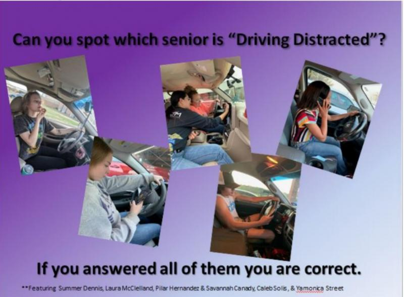 Class of 20-21 Driving Safety Display!
