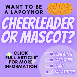 Sign Up for Cheer/Mascot Tryouts Today!