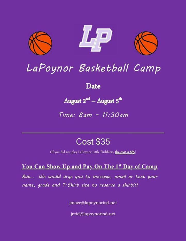 LP Basketball Camp 2021