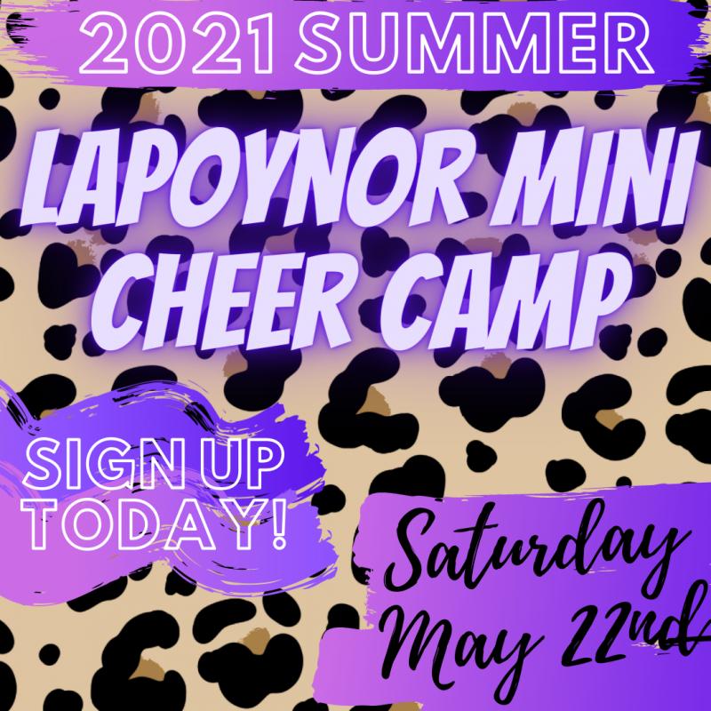 2021 Summer Mini Cheer Camp