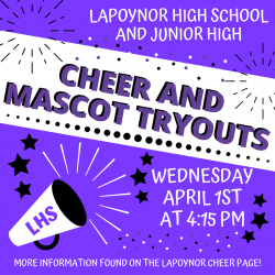 Cheer and Mascot Tryouts
