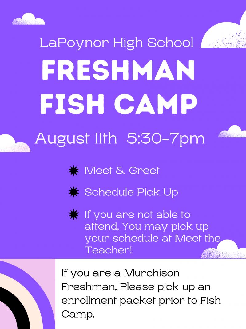 Freshman Fish Camp