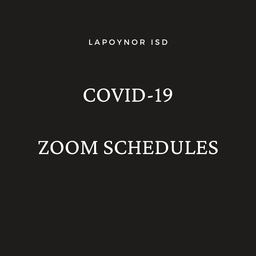 Zoom Schedules