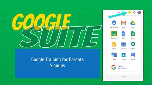 Google Training for Parents
