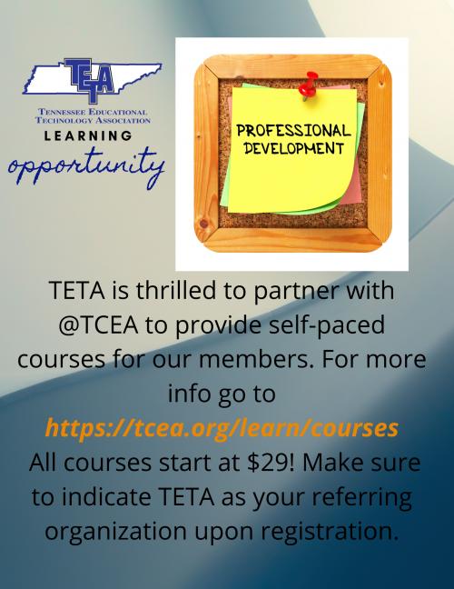 TCEA PD Courses