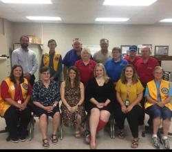 Lions Club Assists with Vision Screenings