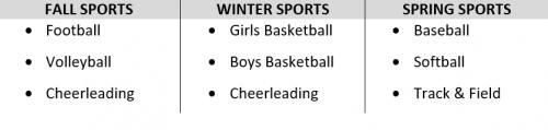 Seasonal Sports